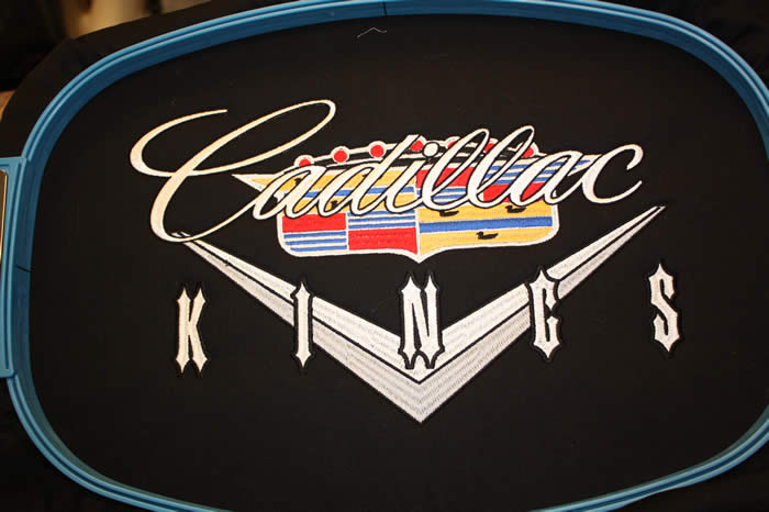 Cadillac Kings Jacket Back